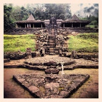 Photo taken at Candi Cetho by Jessica S. on 2/18/2012