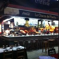 Photo taken at Mercado del Puerto by Claiton K. on 5/6/2012