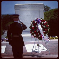 Photo taken at Tomb of the Unknowns by Shaun W. on 5/28/2012