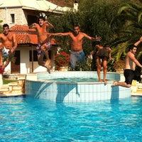 Photo taken at Hotel Mikros Paradisos Sivota by Marianna N. on 5/1/2012