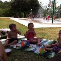 Photo taken at Pease District Park by Aaron S. on 7/4/2012