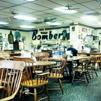 Photo taken at The Bomber Restaurant by Ryan H. on 6/18/2012