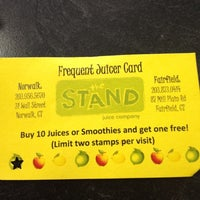Photo taken at The Stand Juice Company by Loni F. on 5/14/2012
