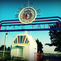 Photo taken at Missouri State Fair Grounds Grandstand by Joe G. on 6/26/2012