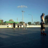 Photo taken at Suniland Roller Hockey Court by Natalia P. on 4/22/2012