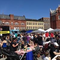 Photo taken at Stratford Market Square by Karen S. on 5/6/2012