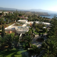 Photo taken at Iberostar Creta Panorama by Alexander M. on 6/14/2012