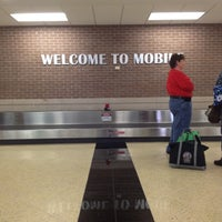 Photo taken at Mobile Regional Airport by Laura G. on 5/25/2012