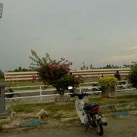 Photo taken at Stadium Sungai Besar by Abu H. on 9/10/2012