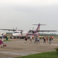 Photo taken at Siem Reap International Airport (REP) by Brandon H. on 4/3/2012