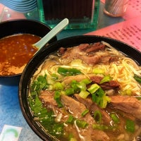 Photo taken at Kau Kee Restaurant by Chieko S. on 5/14/2012
