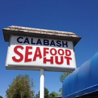 Photo taken at Calabash Seafood Hut by Shea G. on 4/7/2012
