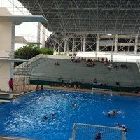 Photo taken at สระว่ายน้ำ การกีฬาแห่งประเทศไทย by Yuppares P. on 3/25/2012