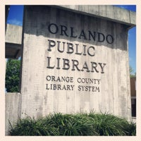 Снимок сделан в Orange County Library - Orlando Public Library пользователем Michelle L. 3/12/2012