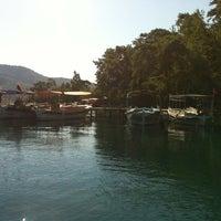 Photo taken at kleopatra vapuru by Volkan O. on 8/23/2012