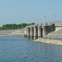 Photo taken at J. Percy Priest Dam by Melissa L. on 4/1/2012