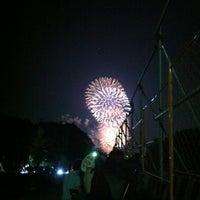 Photo taken at 毘森公園 by hiroki n. on 7/29/2012