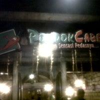 Photo taken at Pondok Cabe by Nivi S. on 6/10/2012