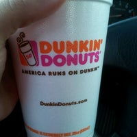 Photo taken at Dunkin Donuts by Julissa G. on 9/11/2012