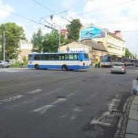 Photo taken at Konzervatoř (bus) by Radim K. on 6/15/2012