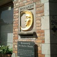 Photo taken at Brouwerij De Halve Maan by Hans D. on 6/16/2012