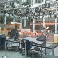 Photo taken at ZDF Hauptstadtstudio by Meikel N. on 8/21/2012