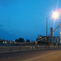 Photo taken at North Ave. Bridge by Helena J. on 7/19/2012