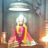 Photo taken at Sri hanuman temple by Hemanshu S. on 5/1/2012
