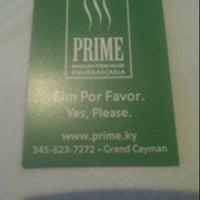 Photo taken at PRIME Brazilian Steakhouse by Maurys M. on 2/11/2012