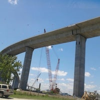 Photo taken at South Norfolk Jordan Bridge by Jamel R. on 6/15/2012