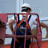 Photo taken at Intrepid Glass Repair Miami by Intrepid G. on 9/6/2012