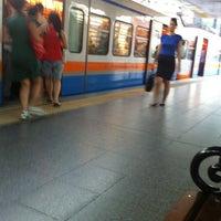 Photo taken at Merter Metro İstasyonu by Milan on 8/10/2012