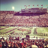 Photo taken at Los Angeles Memorial Coliseum by Alexandria on 9/1/2012