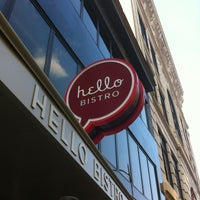 Photo taken at Hello Bistro - Oakland by Andrew C. on 8/3/2012