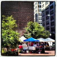 Photo taken at Printer's Row Farmers Market by Kate H. on 8/11/2012