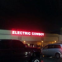 Photo taken at Electric Cowboy - Country and Dance Nightclub by Josh W. on 6/4/2012