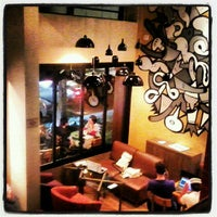 Photo taken at Urbe Café Bar by Noemi V. on 4/23/2012