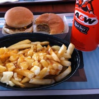 Photo taken at A&W Canada by Magali L. on 4/29/2012