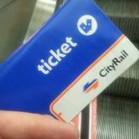 Photo taken at Parramatta Station by Brian C. on 5/8/2012