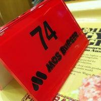 Photo taken at MOS Burger by Dimitri B. on 7/21/2012
