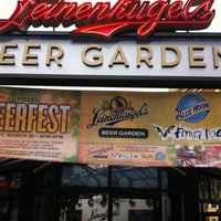 Photo taken at Leinenkugel's Beer Garden by Scott S. on 3/8/2012