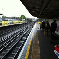 Photo taken at Goldhawk Road London Underground Station by Rob S. on 4/18/2012