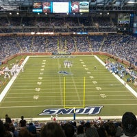 Photo taken at Ford Field by Dominic M. on 8/10/2012
