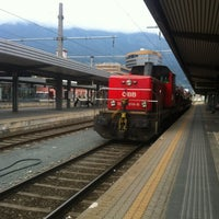 Photo taken at Innsbruck Hauptbahnhof by Christian P. on 9/3/2012