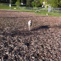 Photo taken at Bassett Creek Dog Park by Israel N. on 5/10/2012