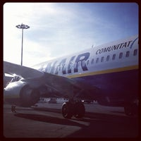 Photo taken at Rome Ciampino Airport by Annalisa T. on 4/25/2012