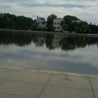 Photo taken at Colonial Lake by Mary Catherine J. on 6/22/2012
