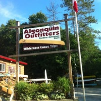 Photo taken at Algonquin Outfitters by Sarah D. on 7/30/2012