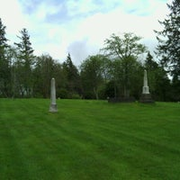 Photo taken at Astoria Pioneer Cemetery by Amy S. on 5/5/2012