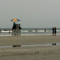 Photo taken at Wildwood Crest Beach by Lc on 7/3/2012